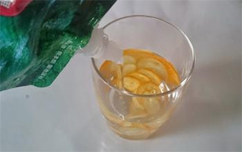 金柑と浸みわたる水素水
